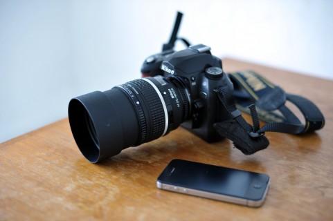 カメラとスマホ