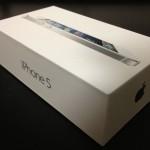 予定より月額1,480円安くiPhone5を入手しました