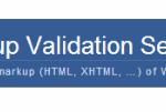 Markup Validation Service のエラーをなくしました