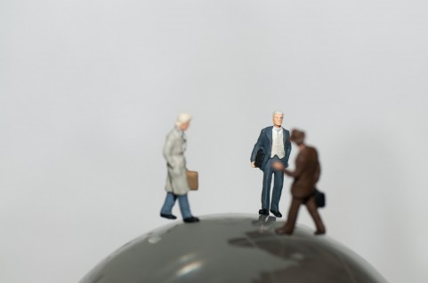 世界を股にかけるビジネスマン