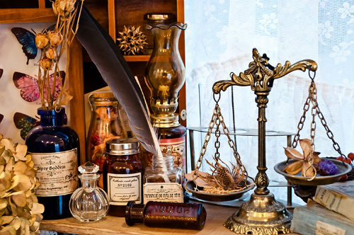 魔女の薬棚